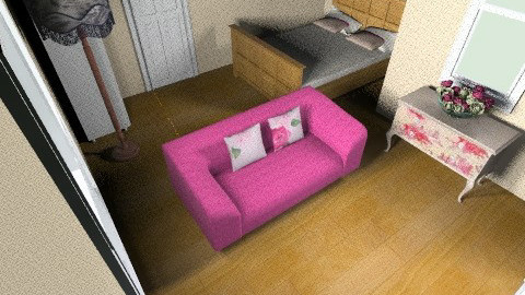 hint of pink - Bedroom - by danielle87terry87