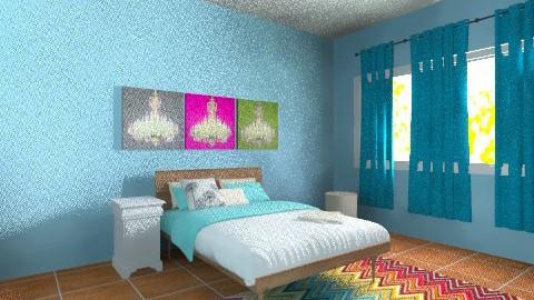 Vanessas Room - Feminine - Bedroom - by Kelbyn