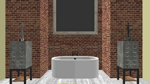 Washington Loft Bath 1 - Minimal - Bathroom - by decordiva1