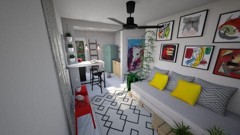 00204 realidade - Living room - by jupitervasconcelos