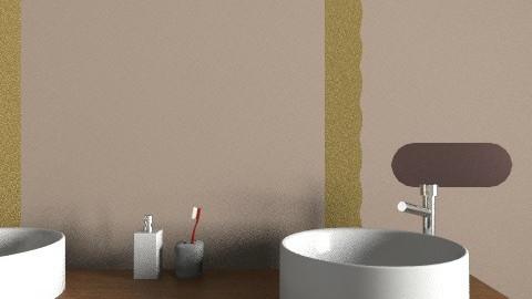 badkamer - Rustic - Bathroom - by cgulikers