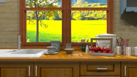 Countryside Kitchen - Country - Kitchen - by yourjieee