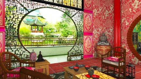 Concubine Pavillon - Classic - Living room - by Bibiche