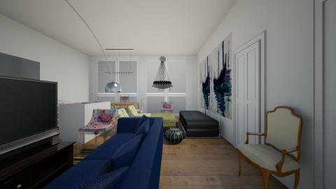2nd floor living - by sudhavmittal