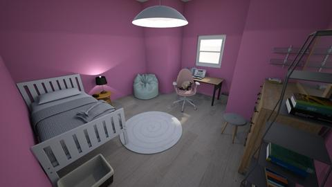 i was bored  - Bedroom - by _Anoe_