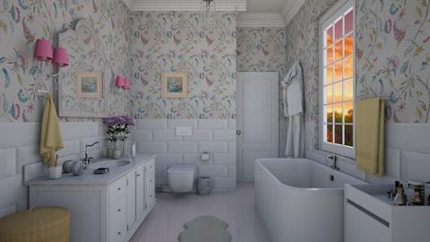 Girl  bathroom - Bathroom - by Roberta Coelho