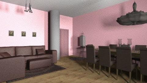 nice living - Living room - by Menna Ibrahim