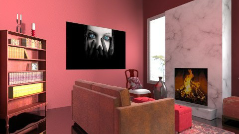 Bergundy - Classic - Living room - by shelbyboyko