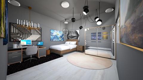 bedroom - Modern - Bedroom - by pigsfordays