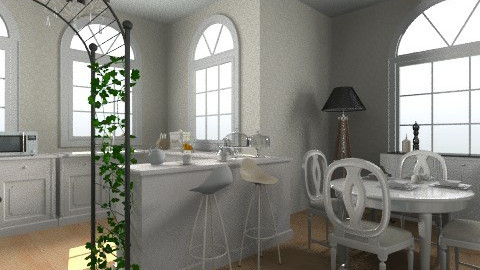 kitchen - Classic - Kitchen - by Aggelikh Pan