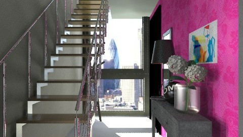 Totaly Eclectic Hall - Eclectic - Office - by ovchicha
