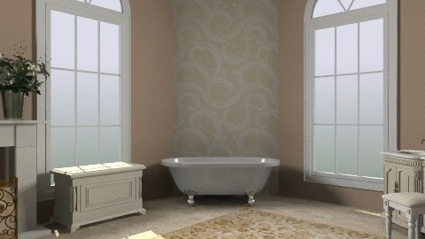 Victorian Bathroom - Feminine - Bathroom - by egrimsley