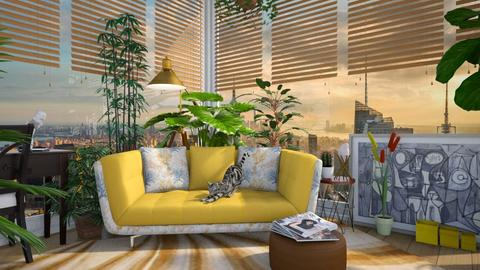 Living Room Jungle - by Vanessa_D