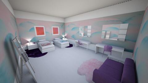 Geometric Bedroom - Bedroom - by Alexa Design