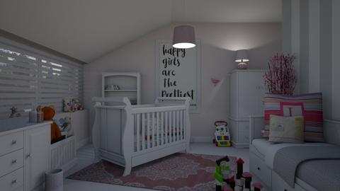 Nursery - Feminine - Kids room - by Annathea