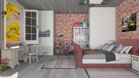 Ico 2 - Feminine - Bedroom - by violeta1987