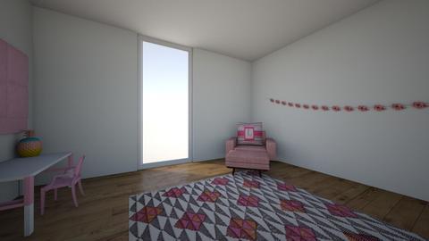 Laylas pink room - Kids room - by Giraffegirl68