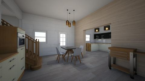 scandinavian kitchen - Minimal - Kitchen - by Ce Alvarez