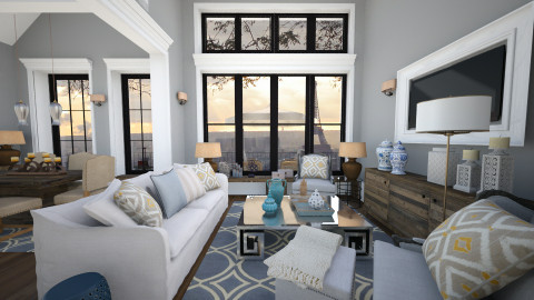 paris in9 - Living room - by naki1