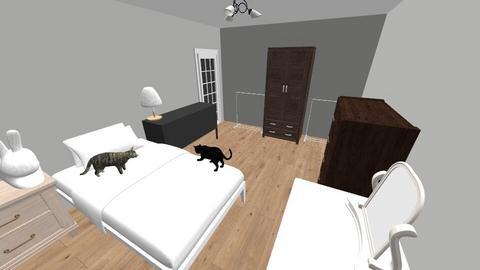 OBECNA SYPIALNIA 1 - Living room - by kassqqaa