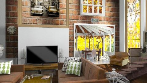 VintageLivingRoom - Vintage - Living room - by StienAerts