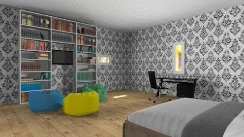 Dream bedroom - Bedroom - by barfi2012