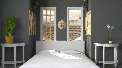 almost black  - Modern - Bedroom - by lavilavinia