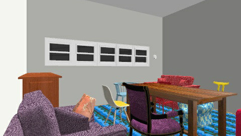 Retro Living Room - Retro - Living room - by sarahdeco2