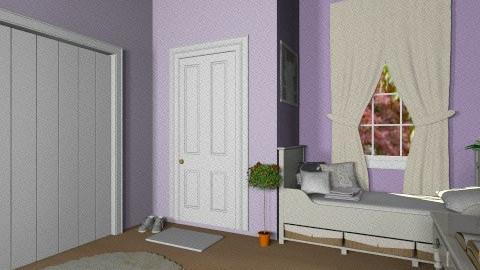Hannah - Bedroom - by fenwayb