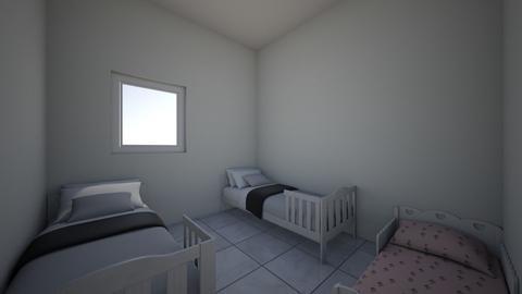 dana girls room - Kids room - by annanavatian