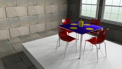 Stone box - Dining room - by dimitrafounda