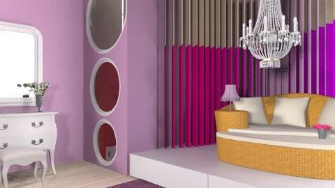 Funky Teen room - Feminine - Bedroom - by smw0196
