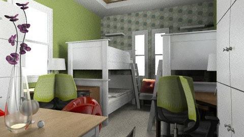 4 person dormitory - by johanne_dalogdog