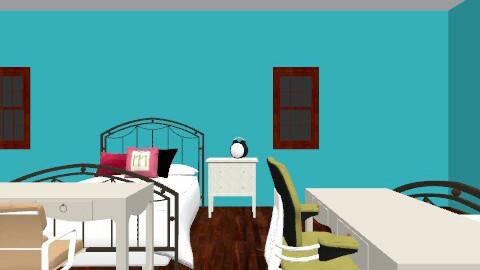 Boarding school dorm idea - Feminine - Bedroom - by Yana_98