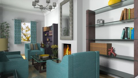 For Newbie007 2 - Eclectic - Living room - by Theadora