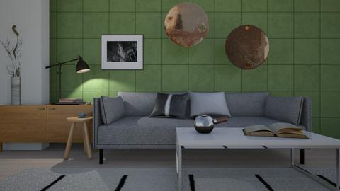 Loft Living Space - by SofiaL
