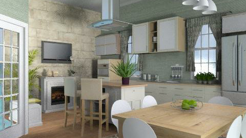 Cotswolds Kitchen One - Country - Kitchen - by design_love_dream