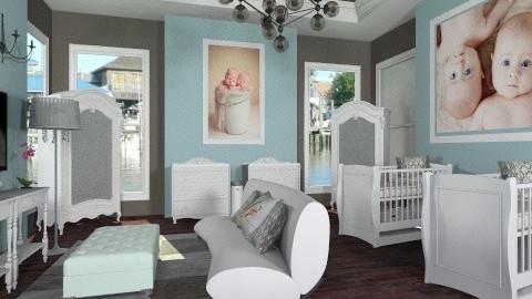 Moms Nursery - Feminine - Bedroom - by saraashun3