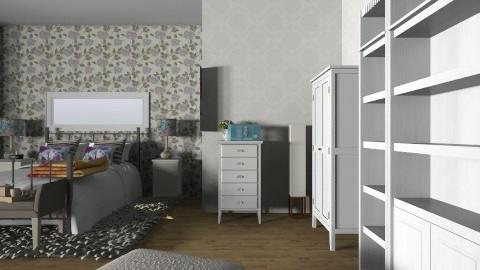 big - Feminine - Bedroom - by Cathygora