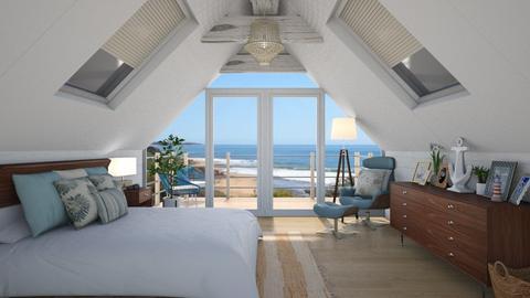Surf Shack  - Bedroom - by rachaelphillips636