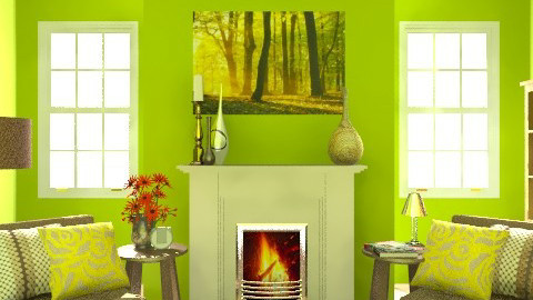 Eden - Living room - by Burkota