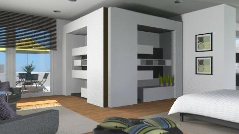 Virtual Sleep - Modern - Bedroom - by channing4