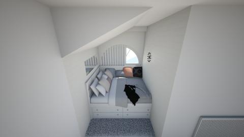Small Bedroom - Bedroom - by Idzik