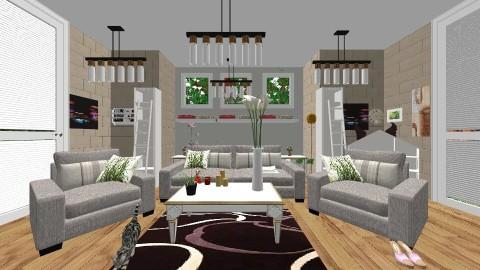 1 - Living room - by Nati Lovi