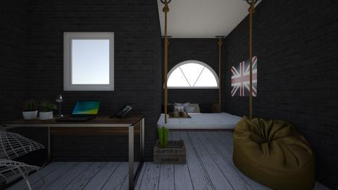 cool bedroom - Vintage - Bedroom - by absarecool