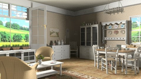 Countryside life - Country - Living room - by milyca8