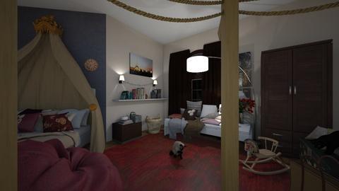 bedroom - Bedroom - by Lydia3322