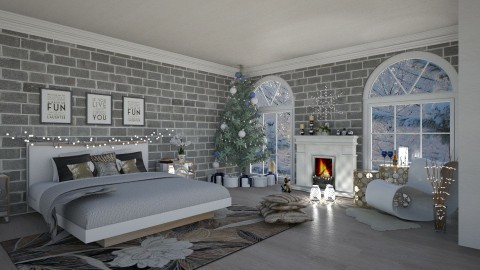 Christmas room - by Sarah_choo