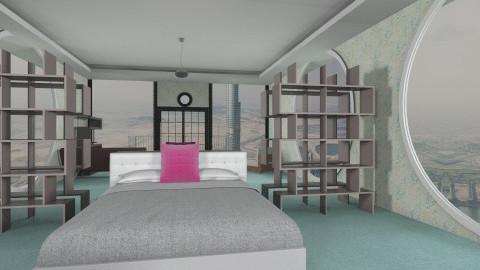 Dubai View - Modern - Bedroom - by Jacquie Ru