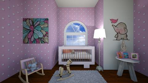 Pink Baby - Kids room - by Izabel_M